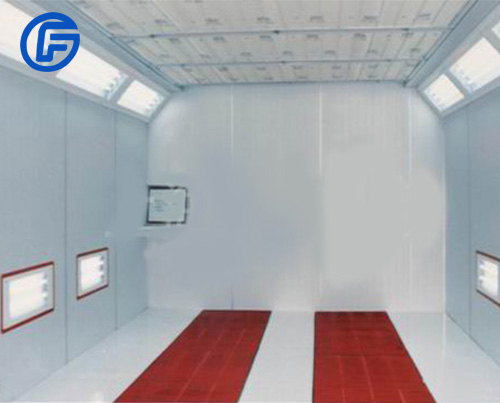 Dry spray booth