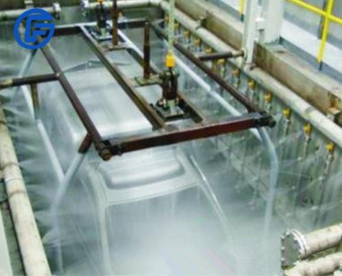 Automotive vehicle coating equipment