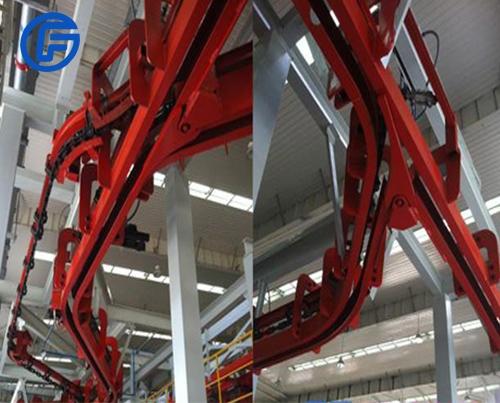 Suspension conveyor production line