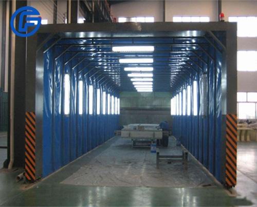 Automatic paint production line