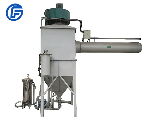 Water bath dust collector